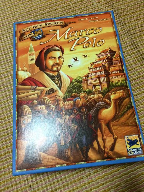 「マルコポーロの足あと」が世界一周旅を思い出して楽しすぎる!【ボードゲームレビュー】 (1)