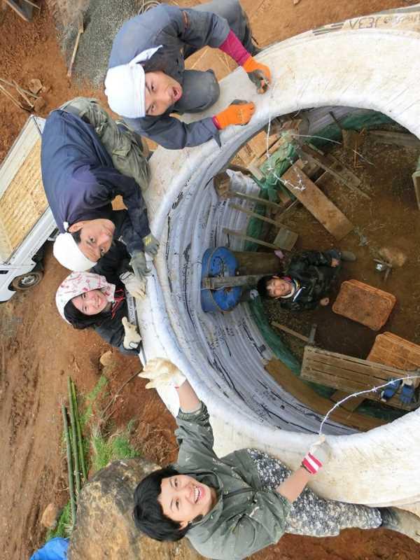 アースバックハウスの作り方を学んでみた!セルフビルドで安く簡単で地球に優しい家を作りたい!! (8)