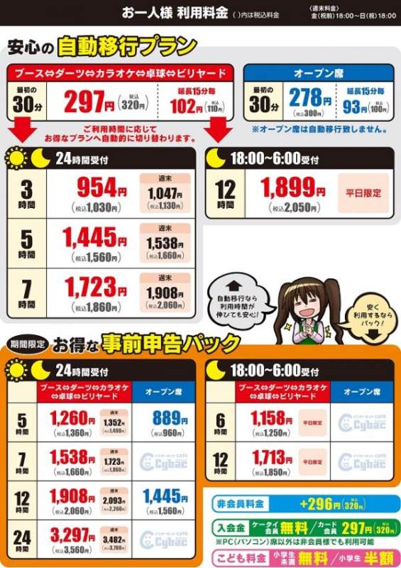 熊本市で安い宿泊先はスーパー銭湯「ゲンキスクエア」か漫画喫茶「サイバック」(※格安ホテルが満室で入れなかっただけ涙)