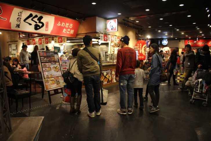 大阪で有名店のたこ焼きを食べ比べてみた!個人的なベストは山ちゃんの塩!【大阪たこ焼きミュージアム】 (3)