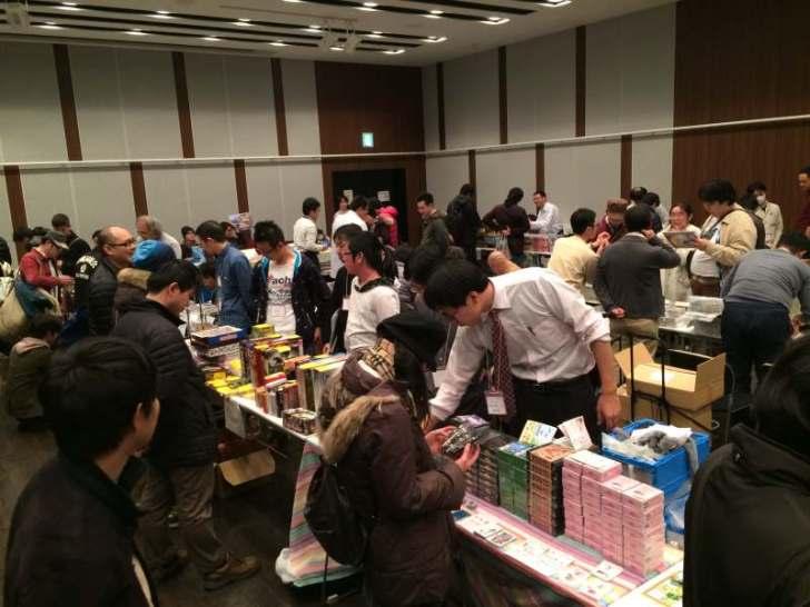 名古屋ボードゲームフリーマーケットに行ったら中学高校の同級生が「きょうあくなまもの」作成・販売しておりびっくり! (2)