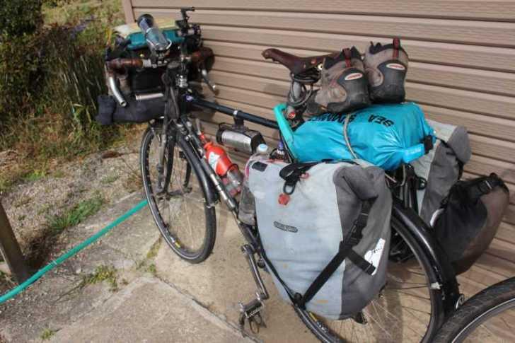 4年半かけて世界を自転車で70000㎞以上走った世界一周チャリダー「伊藤篤史」、我が家に現る! (4)