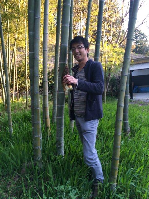 【田舎暮らしの春の旬】タケノコ掘りに、わらび、つくしを採って食べてみた! (3)