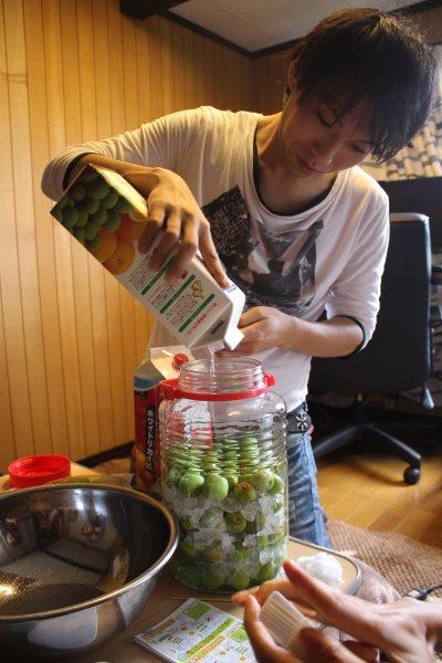 梅干しと梅酒の作り方!熟成梅は梅干しに、青梅は梅酒に、っていうけど、青梅も梅干しにしてみた (11)
