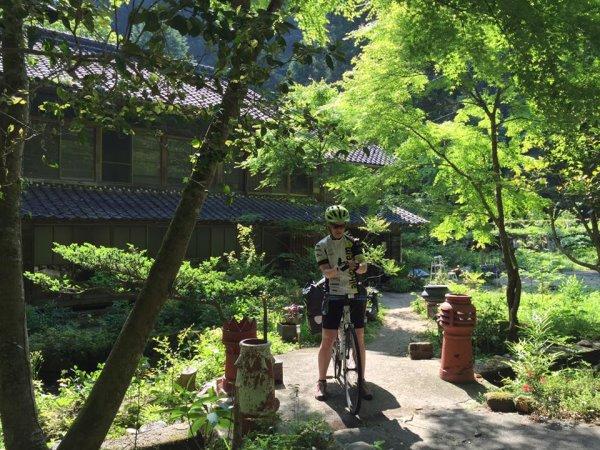 スイス人のかわいい女の子チャリダー(自転車乗り)が新城市作手に1週間以上滞在していたのだよ! (5)