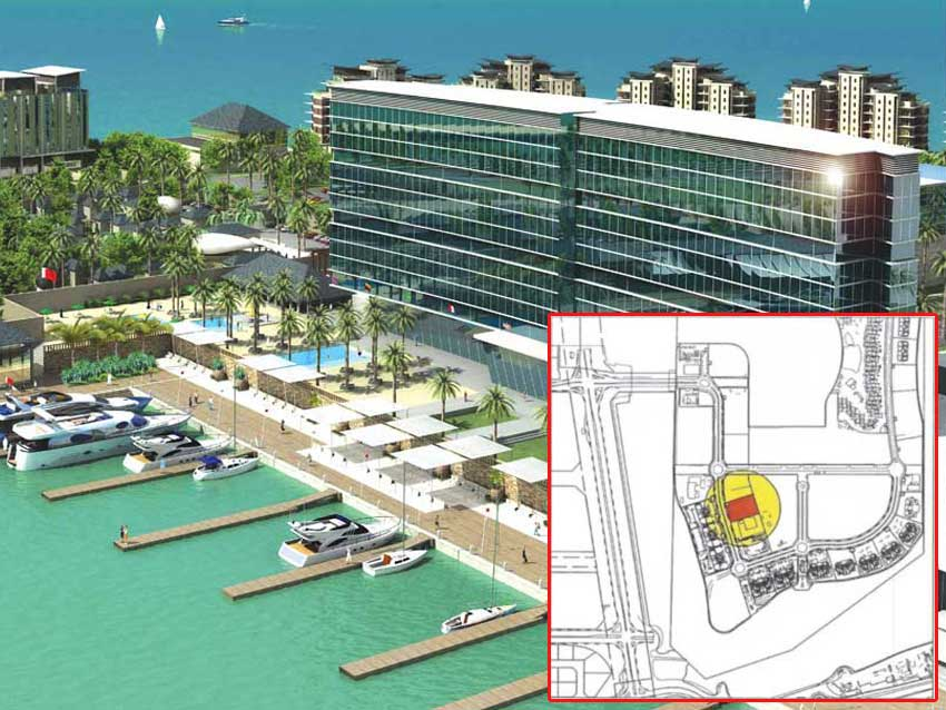 Investment Land For Sale In Reef Island