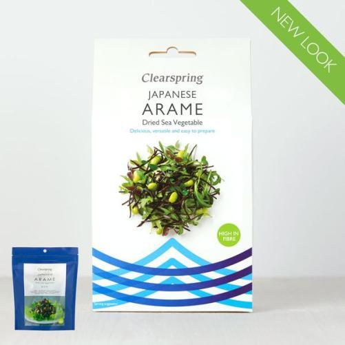 Clearspring Arame gedroogd zeewier 30gr