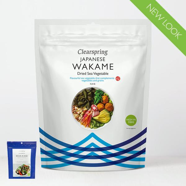 Clearspring Wakame gedroogd zeewier 30gr