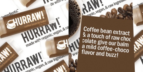 hurraw coffee lip balm ingredienten