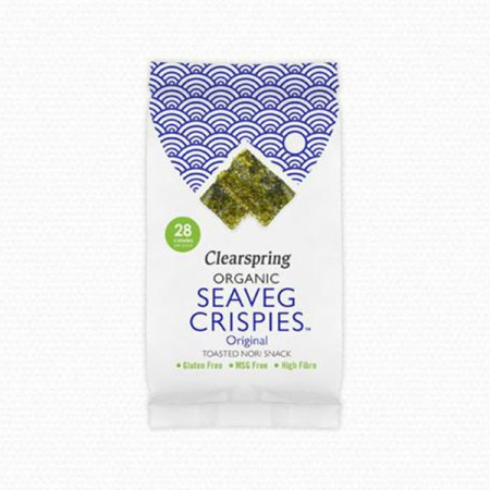 Seaveg Crispies Clearspring natural