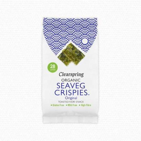 Seaveg Crispies Clearspring natural