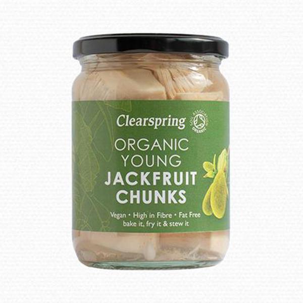 jackfruit stukjes Clearspring - bio Jackfruit