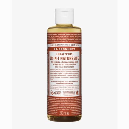 Dr Bronner Eucalyptus Pure Castille Soap vegan 475ml