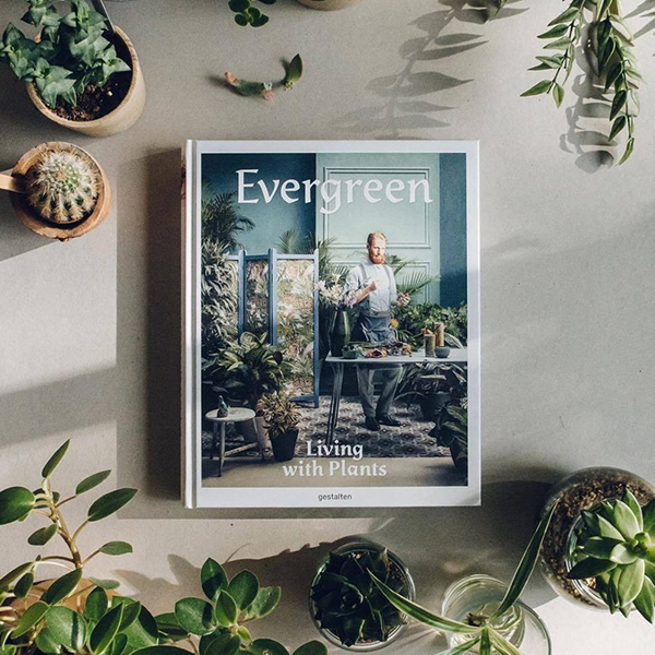 evergreen, living with plants - barlow - boek hardcover