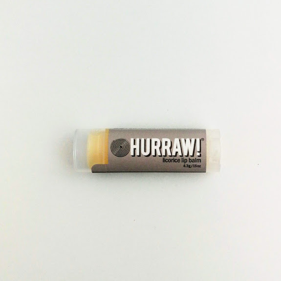 hurraw licorice vegan lip balm
