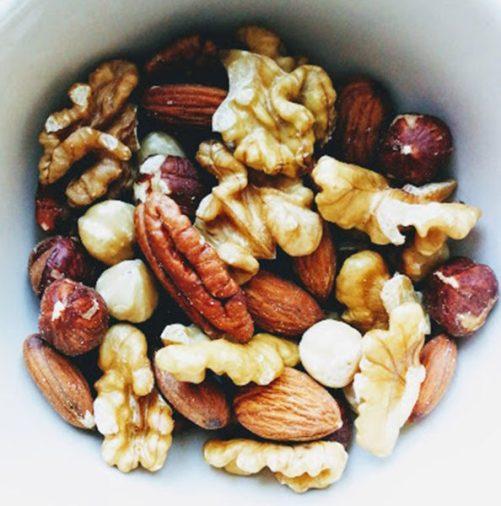 notenmengeling paranoten walnoten pecans amandelen hazelnoten