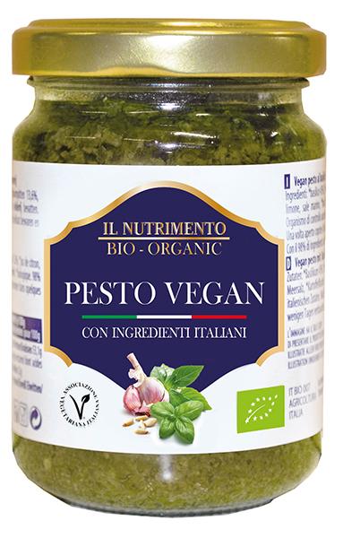 vegan pesto Il Nutrimento pesto vegan