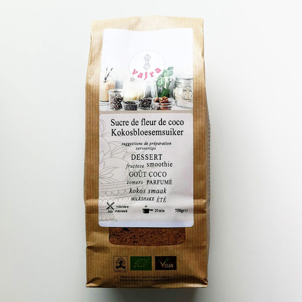 kokosbloesemsuiker Vajra 750gr