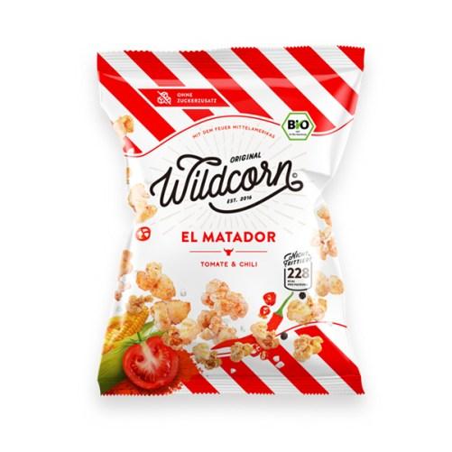 Wildcorn El Matador hartige popcorn