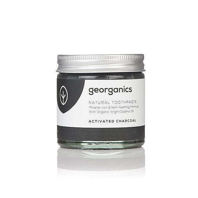 georganics vegan tandpasta actieve kool 120ml