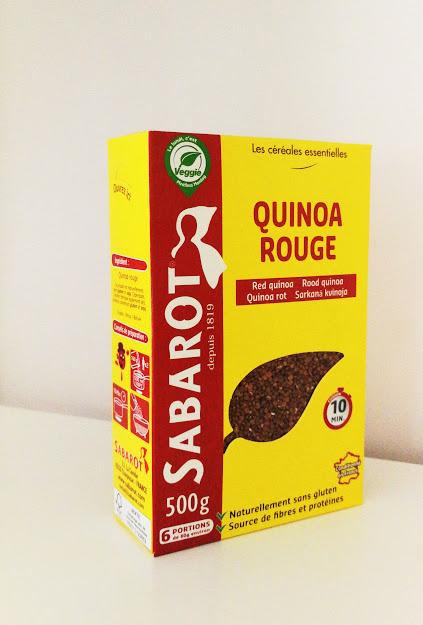 Sabarot quinoa rood 500gr