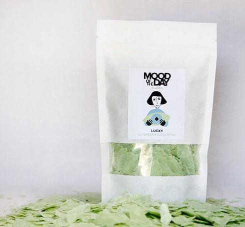 Mood of the Day Soap Flakes Lucky vegan xmas at TAK