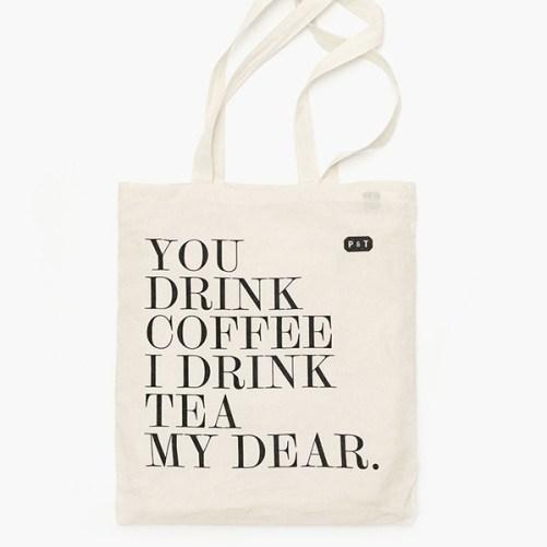 Paper & Tea My dear Tote bag