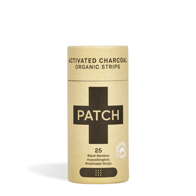 pleister PATCH Activated Charcoal - pleister zero waste actieve kool