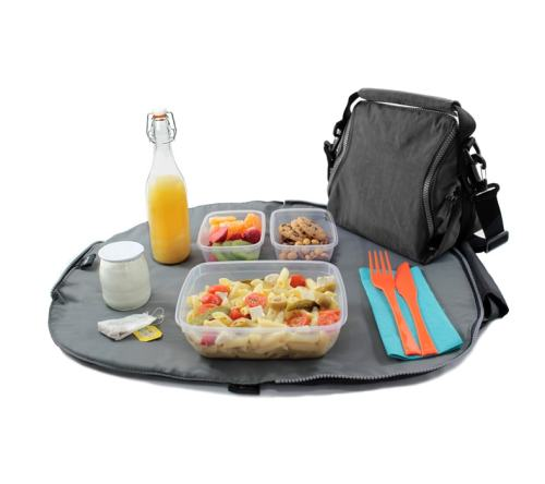Roll'Eat - Eat'n'Out premium lunchtas Zwart