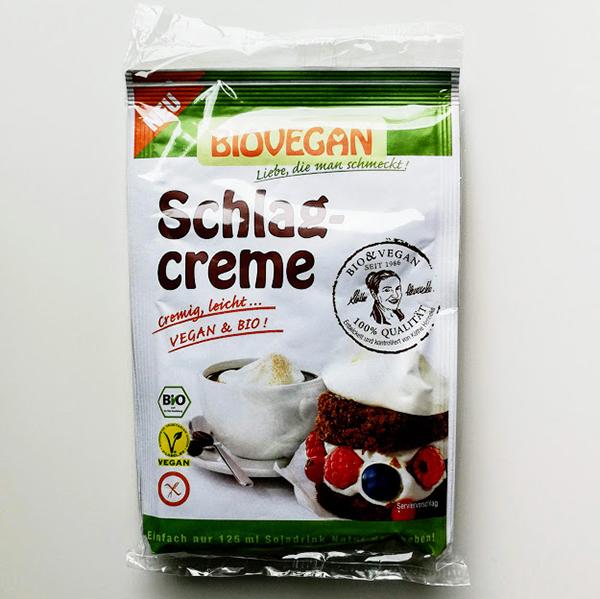 vegan slagroom Biovegan Schlagcreme