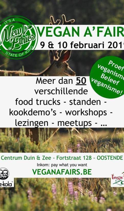 vegan a'fairs Oostende 9 en 10 februari