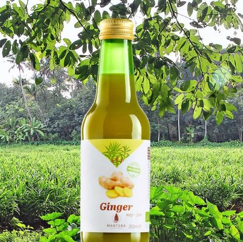 gembersap bio, Martera Ginger Juice 250ml