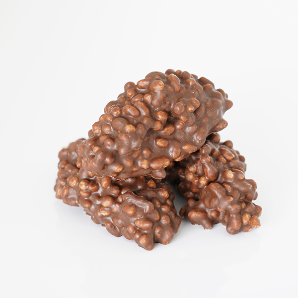 Rocks Rice Loulou's Chocolate vegan chocolade