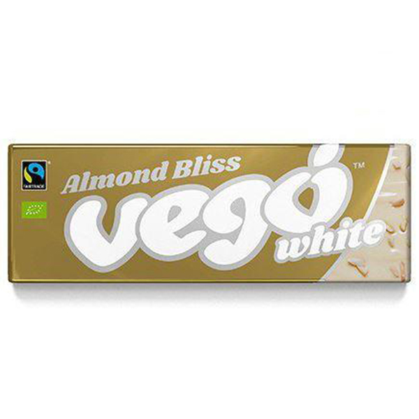 vego white almond bliss Vego witte chocolade vegan