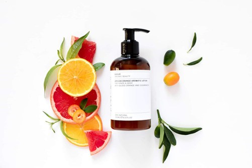 Evolve Beauty Body Lotion African Orange Aromatic Lotion