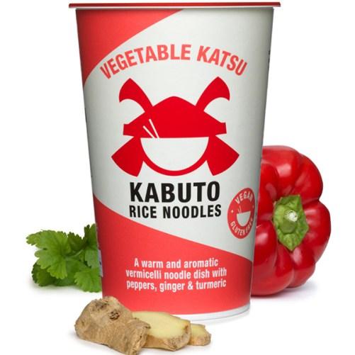 Kabuto Noodles Vegetable Katsu vegan instant noodles