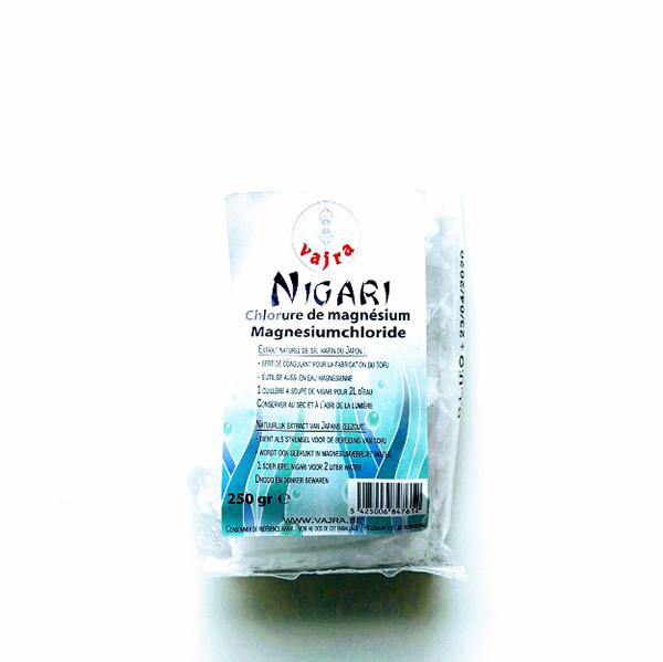 magnesiumchloride of Nigari van Vajra
