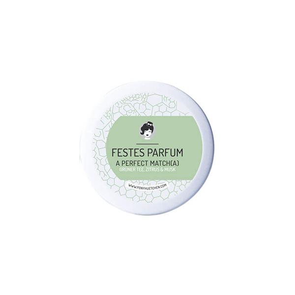 parfum a perfect matcha ponyhutchen festes parfum 12ml