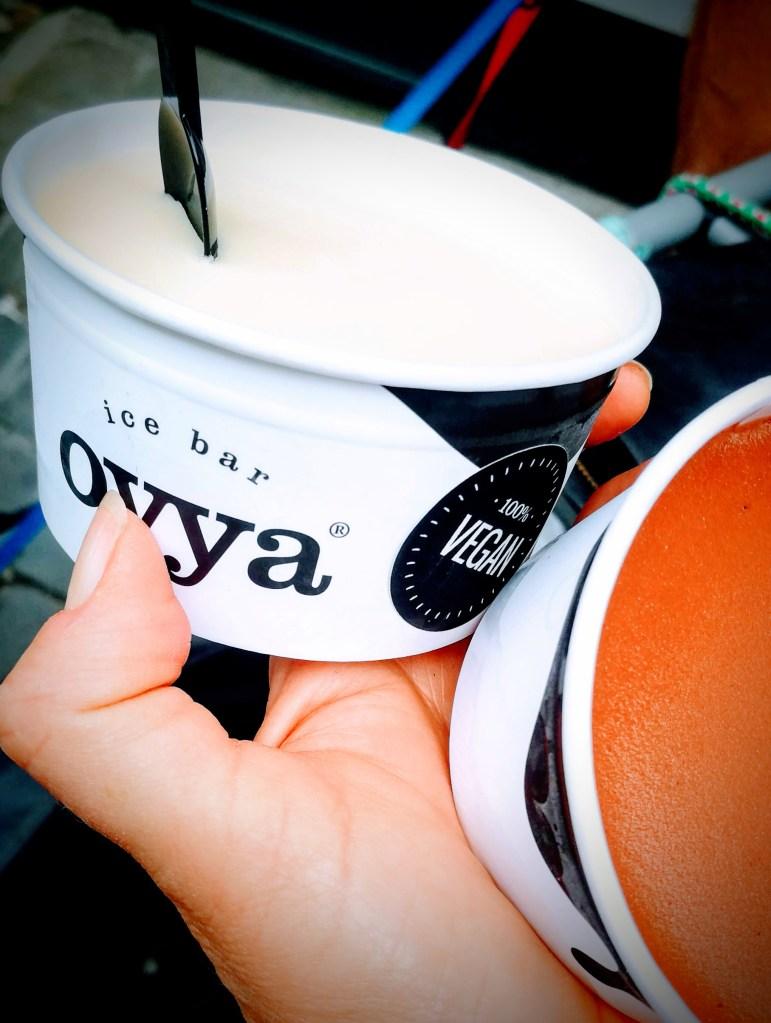 vegan ijsjes bij Oyya Gent