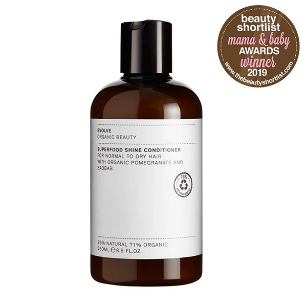 superfood shine conditioner Evolve Beauty