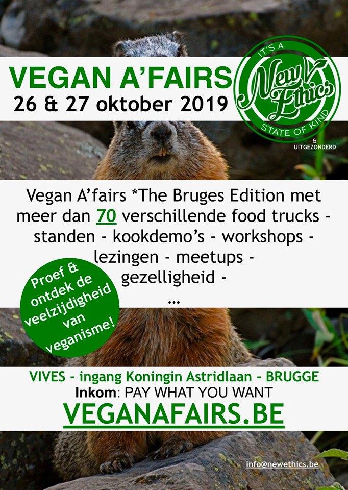 vegan a'fairs Brugge edition 2019