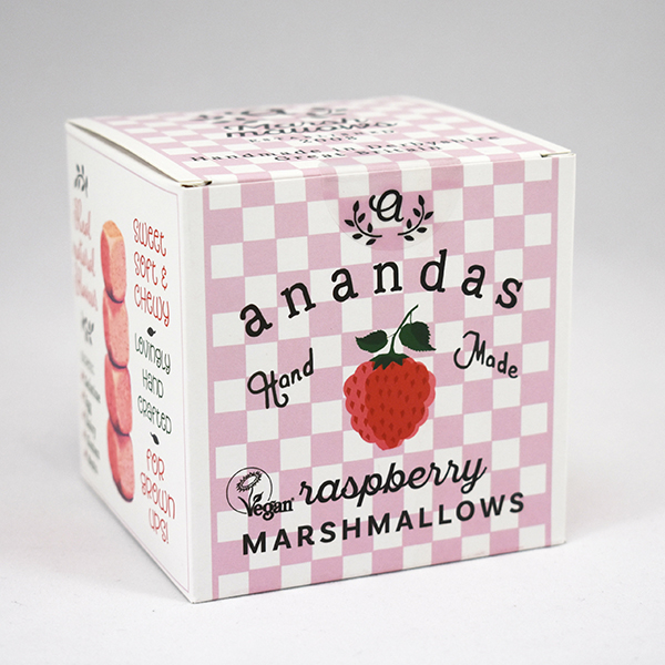 Ananda's Raspberry Marshmallows vegan