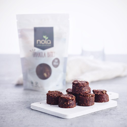 Nola Granola Bites Dark Chocolate vegan 105gr