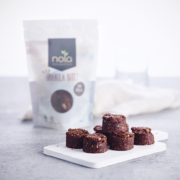 Nola Granola Bites Dark Chocolate vegan 105gr