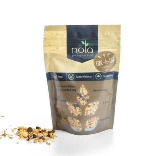 Nola Granola Choc-a-lot vegan granola 300gr