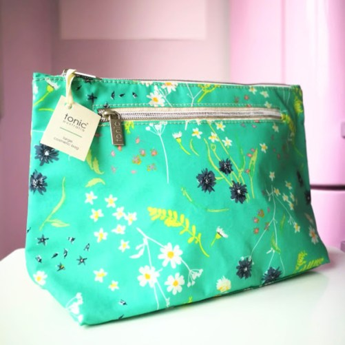 Tonic Large Cosmetic Bag Whimsy Sea grote toilettas