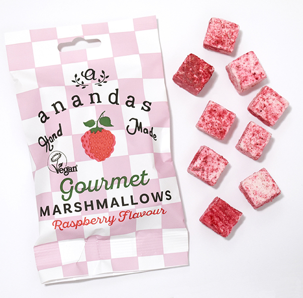 Ananda Foods Raspberry Marshmallows