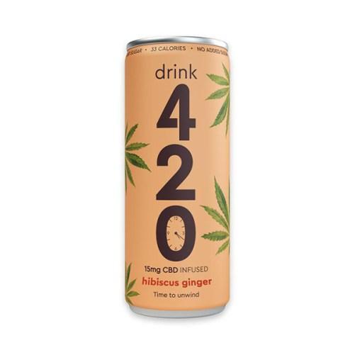Drink 420 Hibiscus Ginger 250ml vegan