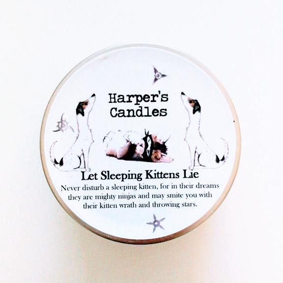 Let Sleeping Kittens Lie van Harper's Candles