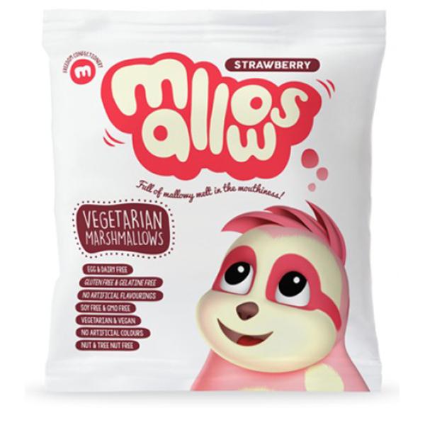 Freedom mallows Strawberry vegan marshmallows